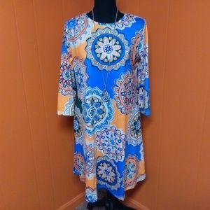 Floral funky/ bohemian style dress